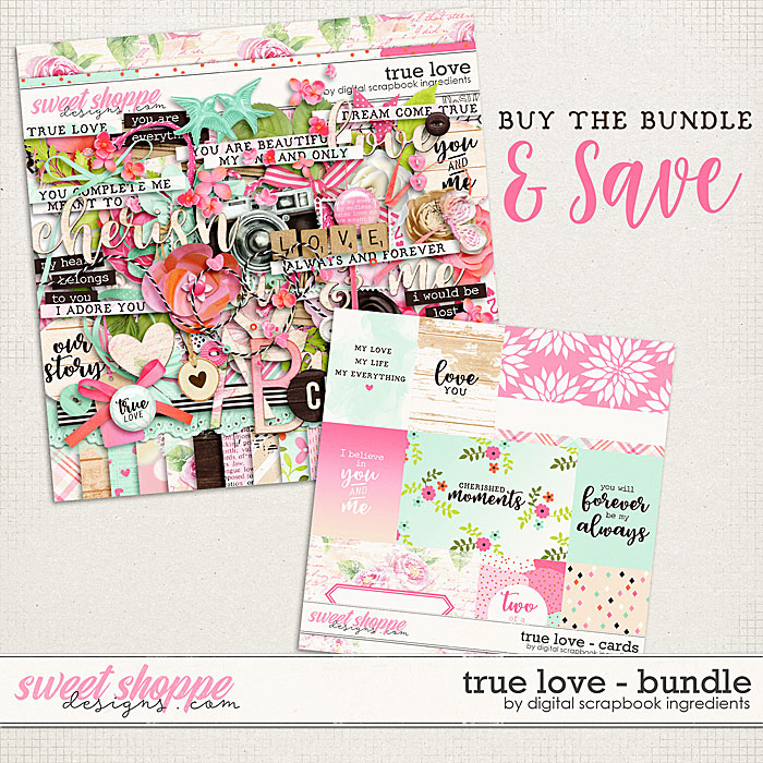 True Love Bundle by Digital Scrapbook Ingredients