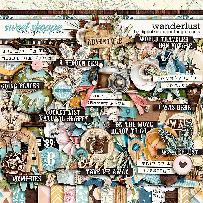 Wanderlust by Digital Scrapbook Ingredients