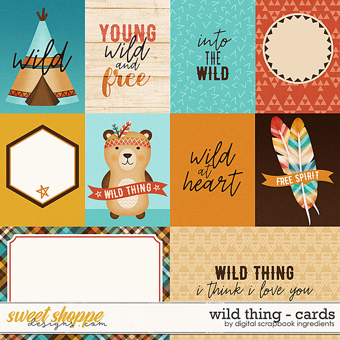 Wild Thing | Cards by Digital Scrapbook Ingredients