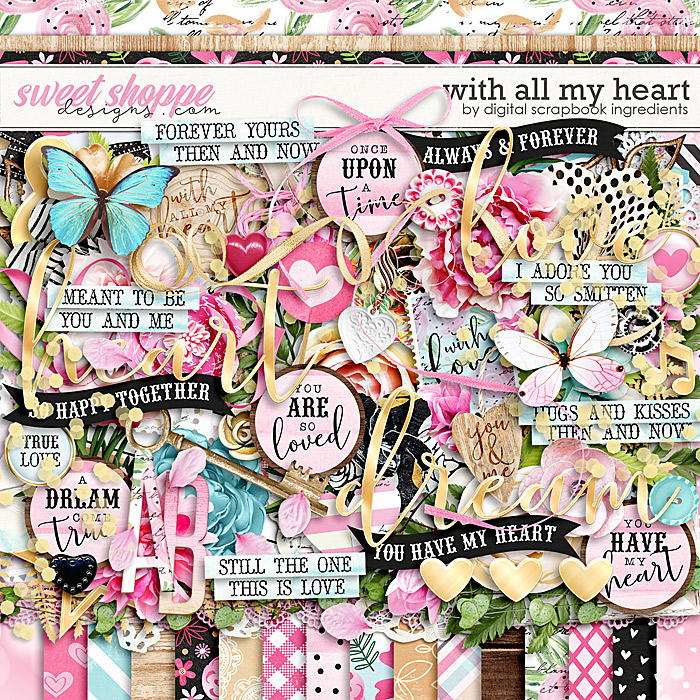 With All My Heart by Digital Scrapbook Ingredients