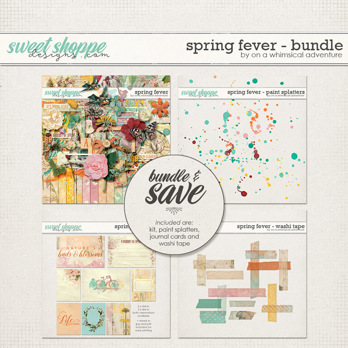 Spring Fever Bundle by On A Whimsical Adventure
