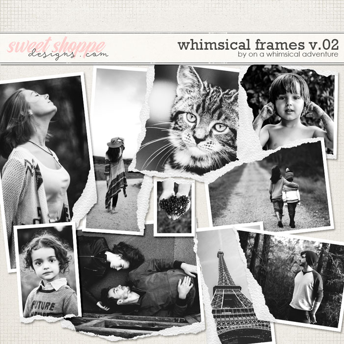 Whimsical Frames Vol02 Torn by On A Whimsical Adventure