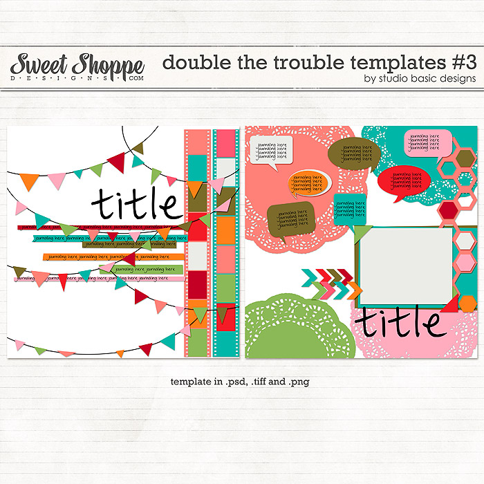 Double The Trouble Templates #3 by Studio Basic