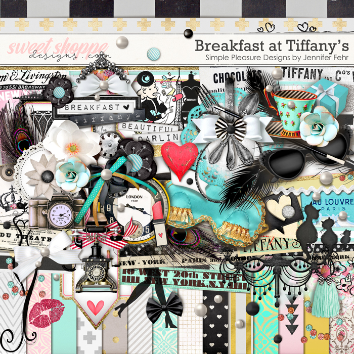Breakfast at Tiffany's Kit: Simple Pleasure Designs by Jennifer Fehr