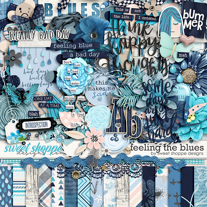 *OFFER EXPIRED* Feelin' The Blues by Sweet Shoppe Designs