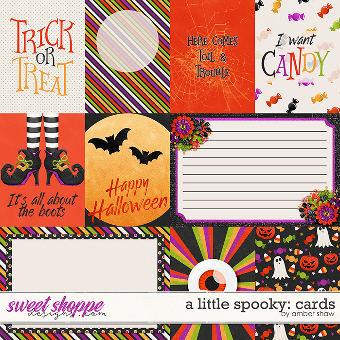 A Little Spooky: Cards by Amber Shaw