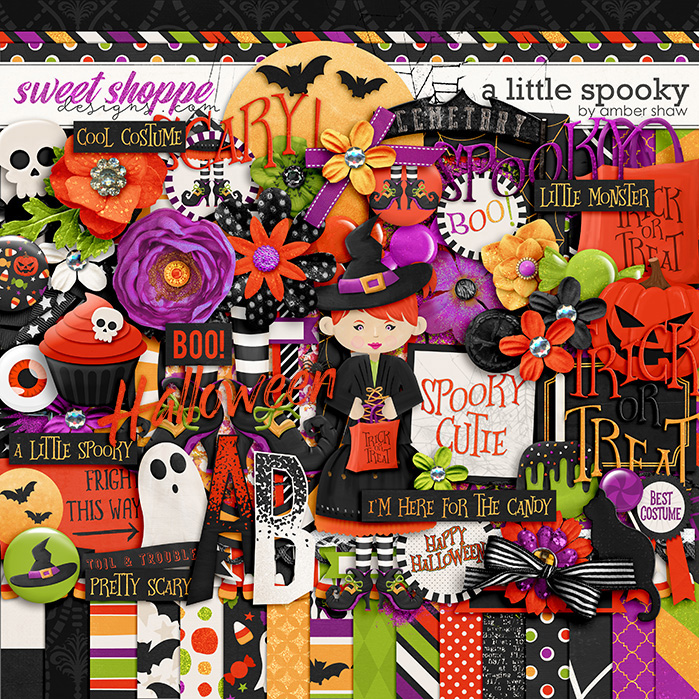 A Little Spooky by Amber Shaw
