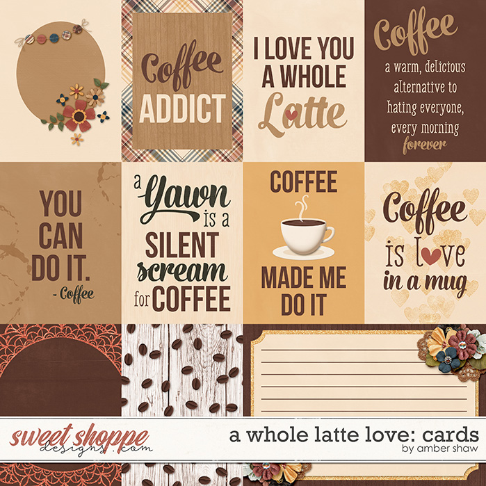 A Whole Latte Love: Cards by Amber Shaw