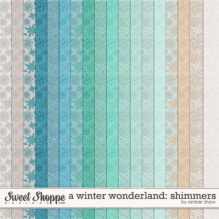 A Winter Wonderland: Shimmers by Amber Shaw