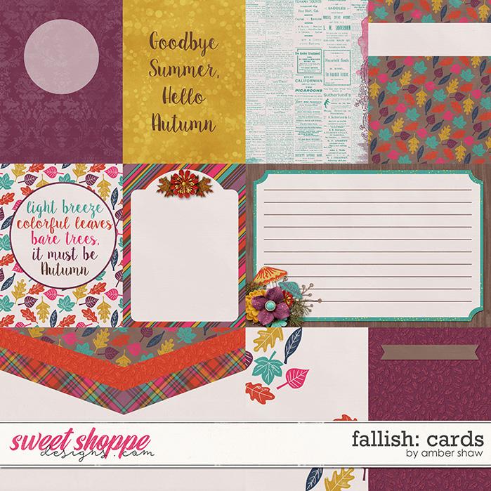 Fallish: Cards by Amber Shaw
