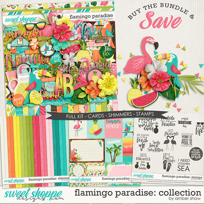 Flamingo Paradise: Collection  by Amber Shaw