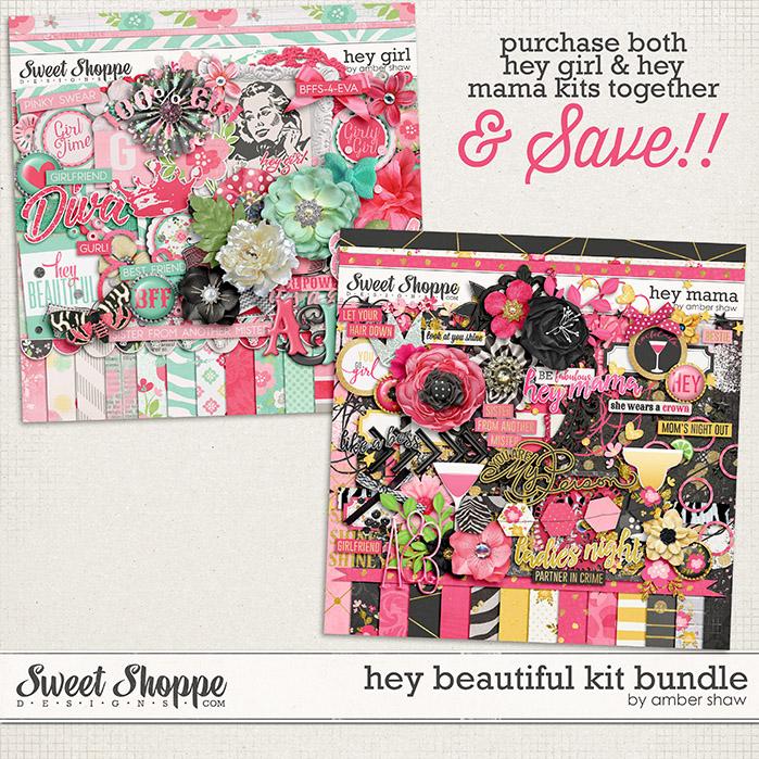 Hey Beautiful Kit Bundle by Amber Shaw