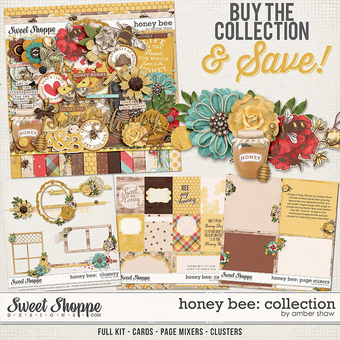 Honey Bee Collection by Amber Shaw