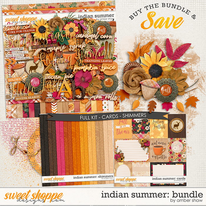 Indian Summer: Bundle by Amber Shaw