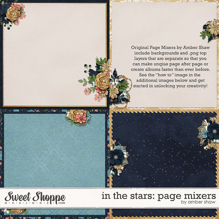 In the Stars Page Mixers by Amber Shaw