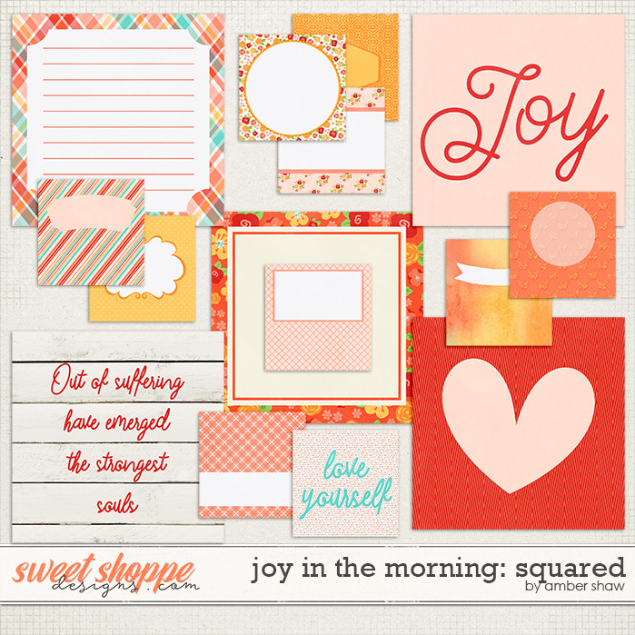 Joy in the Morning Squared by Amber Shaw