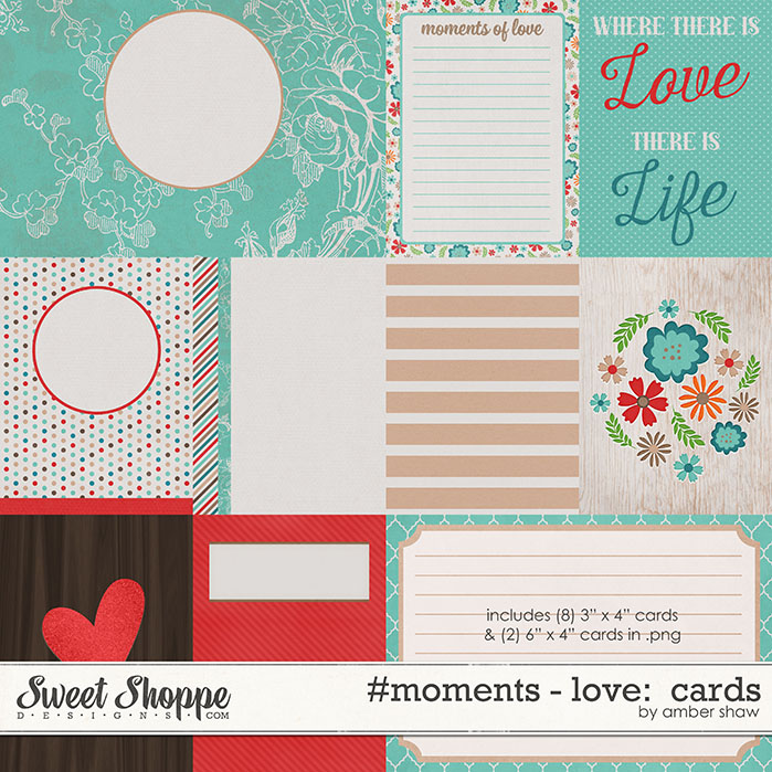 #Moments: Love - Cards by Amber Shaw
