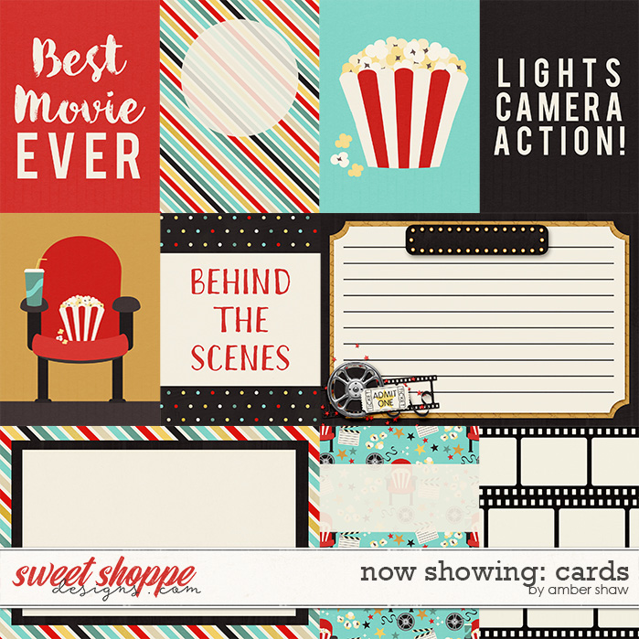Now Showing: Cards by Amber Shaw