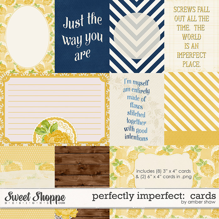 Perfectly Imperfect Cards by Amber Shaw