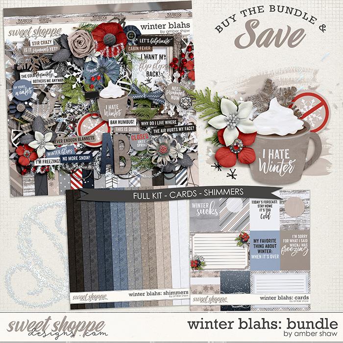 Winter Blahs: Bundle by Amber Shaw
