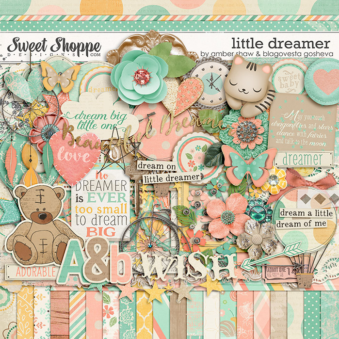 Little Dreamer by Amber Shaw and Blagovesta Gosheva