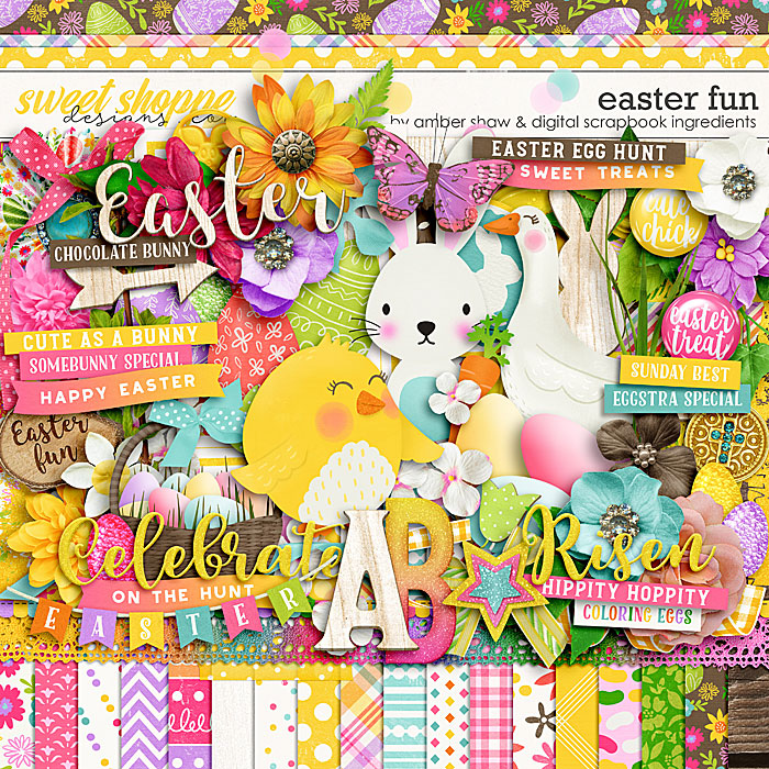 Easter Fun by Amber Shaw & Digital Scrapbook Ingredients