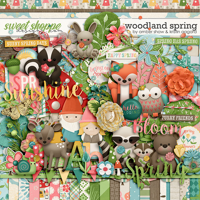 Woodland Spring by Amber Shaw & Kristin Aagard