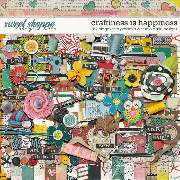 Craftiness Is Happiness Kit Blagovesta Gosheva and Studio Basic