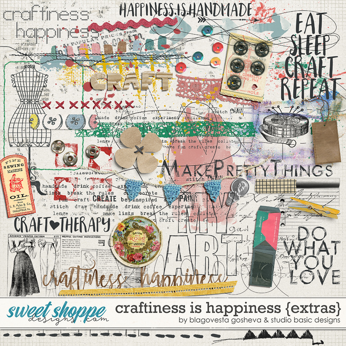 Craftiness Is Happiness Extras Blagovesta Gosheva and Studio Basic