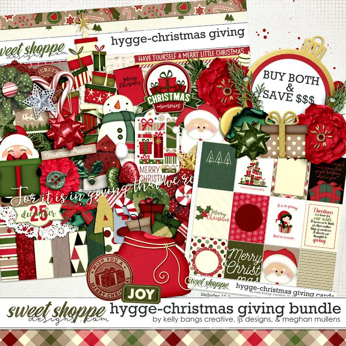 Hygge: Christmas Giving Bundle by Kelly Bangs Creative, LJS Designs and Meghan Mullens