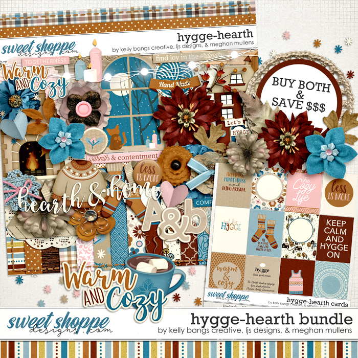 Hygge: Hearth Bundle by Kelly Bangs Creative, LJS Designs and Meghan Mullens