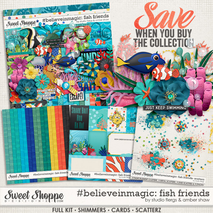 #believeinmagic: Fish Friends Collection by Amber Shaw & Studio Flergs