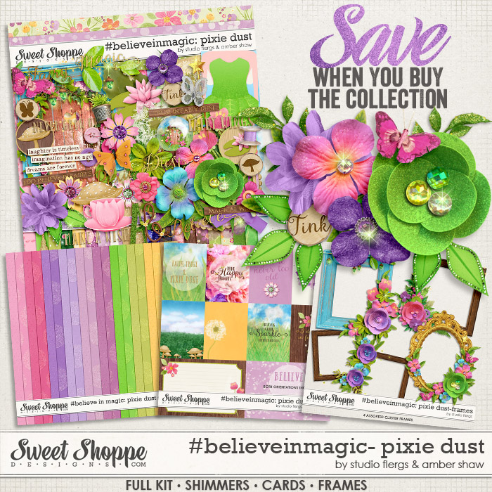 #believeinmagic: Pixie Dust Collection by Amber Shaw & Studio Flergs