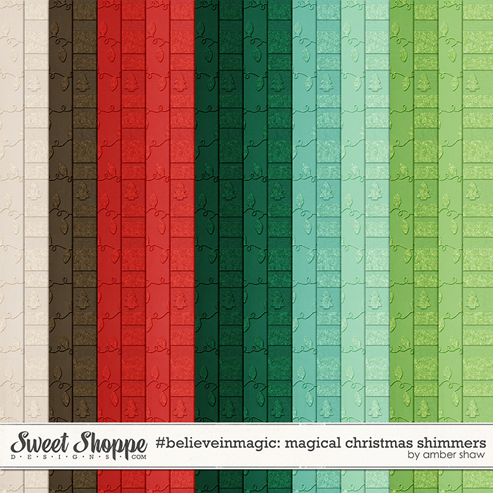 #believeinmagic: Magical Christmas Shimmers by Amber Shaw