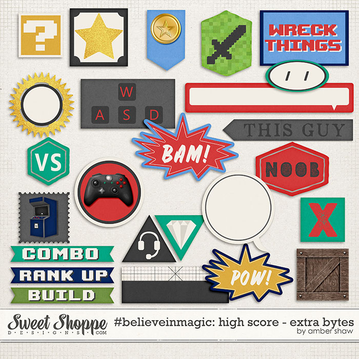 #believeinmagic: High Score Extra Bytes by Amber Shaw