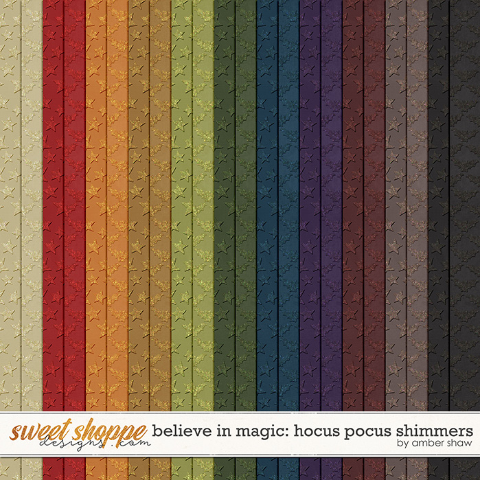 Believe in magic: Hocus Pocus Shimmers by Amber Shaw