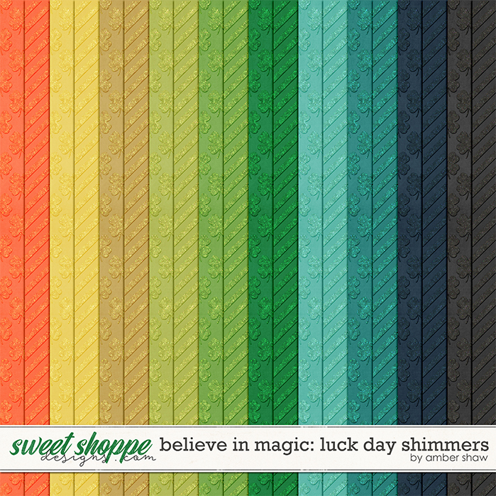 Believe in Magic: Lucky Day Shimmers by Amber Shaw