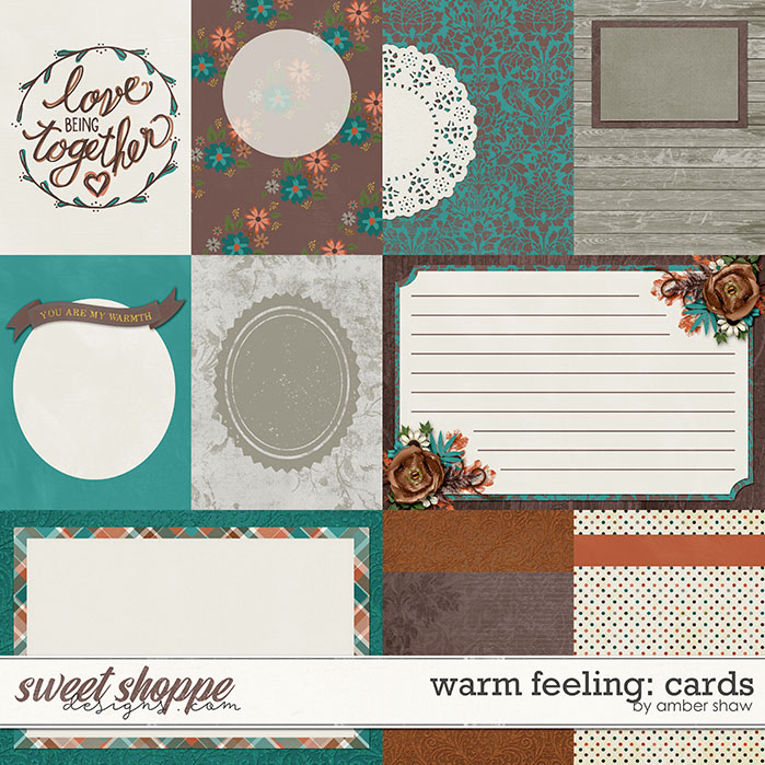 Warm Feeling Cards by Amber Shaw