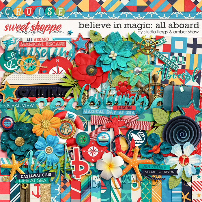 Believe in Magic: ALL ABOARD- by Studio Flergs & Amber Shaw