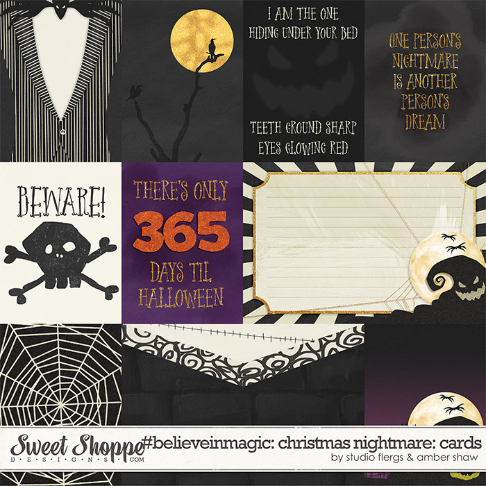 #believeinmagic: Christmas Nightmare Cards