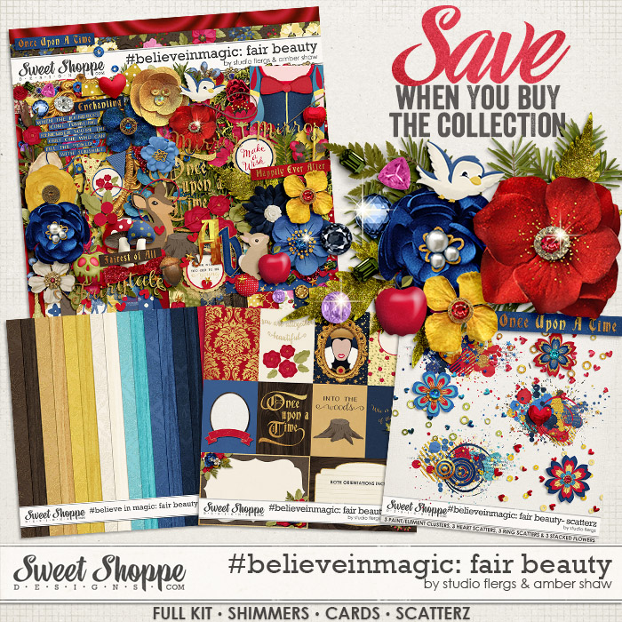 #believeinmagic:  Fair Beauty Collection by Amber Shaw & Studio Flergs
