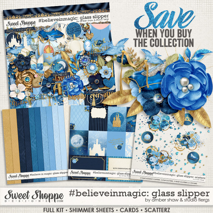 #Believeinmagic: Glass Slipper Collection by Amber Shaw & Studio Flergs