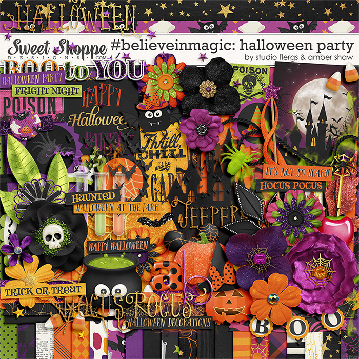 #believeinmagic: Halloween Party by Amber Shaw & Studio Flergs