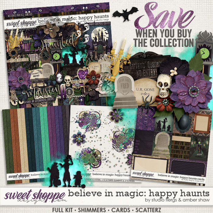 Believe in Magic: Happy Haunts Collection by Amber Shaw & Studio Flergs
