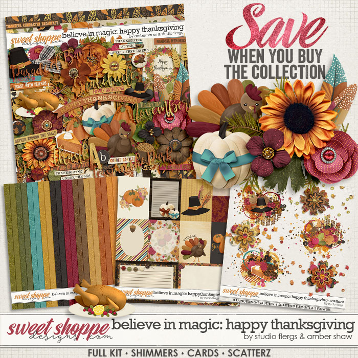 Believe in Magic: Happy Thanksgiving Collection by Amber Shaw & Studio Flergs