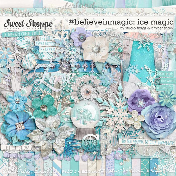 #believeinmagic: Ice Magic by Amber Shaw & Studio Flergs