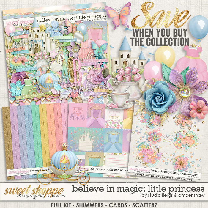 Believe in Magic: Little Princess: COLLECTION & *FWP*- by Amber Shaw & Studio Flergs
