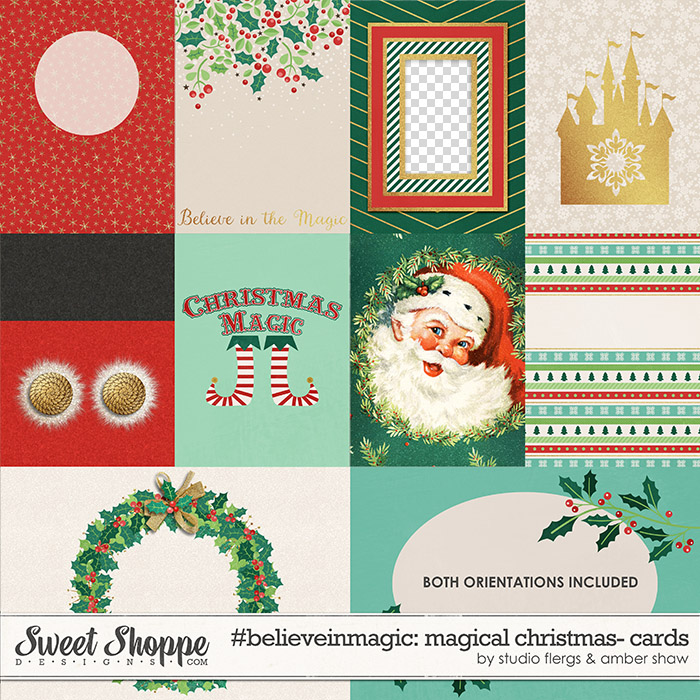 #believeinmagic: Magical Christmas Cards by Amber Shaw & Studio Flergs