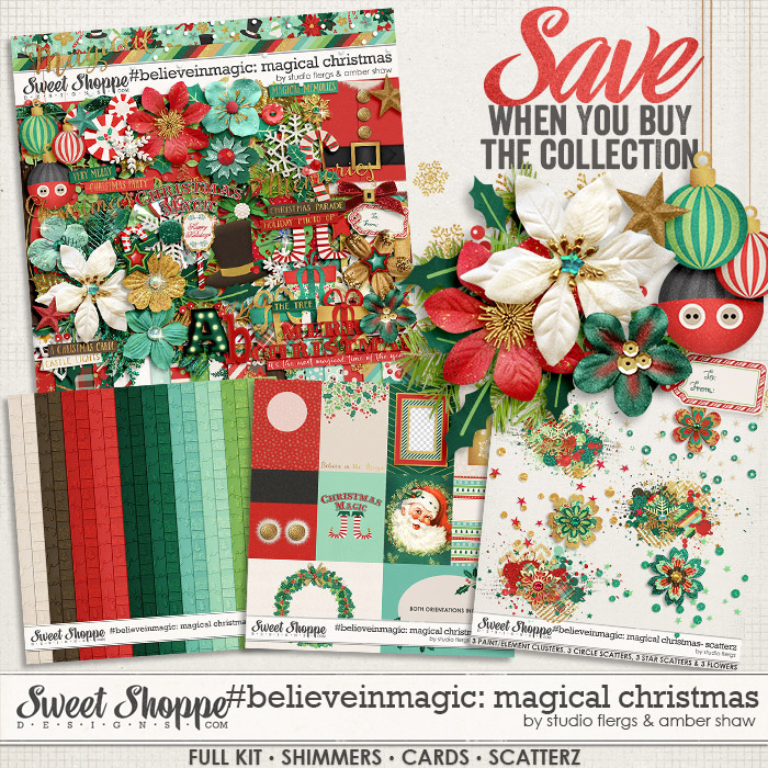#believeinmagic: Magical Christmas Collection by Amber Shaw & Studio Flergs