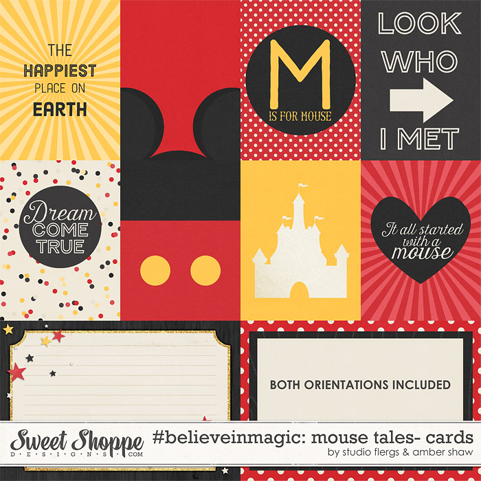 #believeinmagic: Mouse Tales Cards by Amber Shaw & Studio Flergs